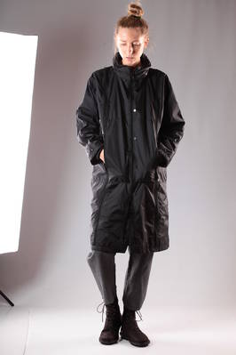 classic unisex 'Final Home' raincoat in nylon canvas  - 122