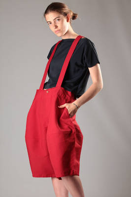 knee-length divided skirt high-tech treated polyester fabric  - 48