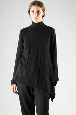 long and large sweater in light wool, polyamide and viscose  - 73