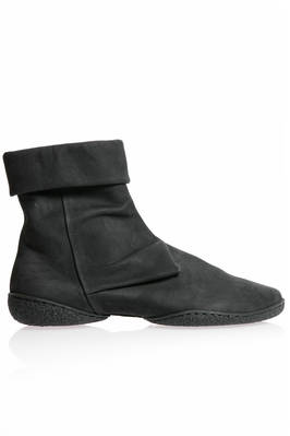 ANGLE ankle boot in soft suede cowhide leather and two shell rubber sole  - 51