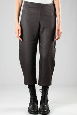 wide trousers in joined and heavy cotton canvas  - 277