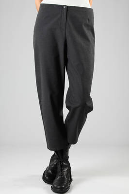 low crotch and low waist trousers in heavy cotton  - 277