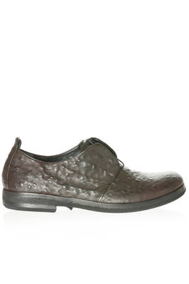 hand-made Oxford shoe in embossed leather  - 283