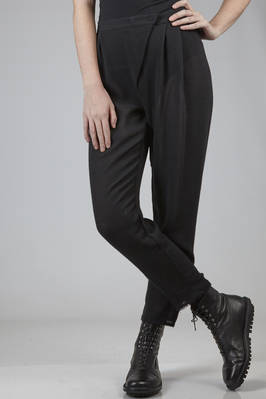 trousers in pure new wool see-trough gauze  - 275