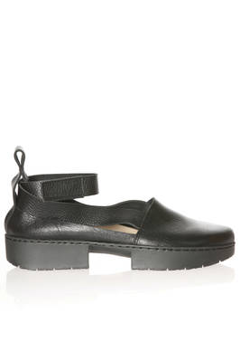 FOCUS flat shoe open on the sides in soft cowhide leather  - 51