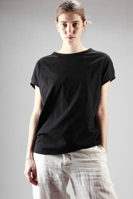long and wide t-shirt in cotton jersey  - 97