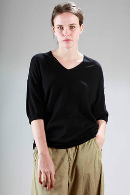 jersey cotton hip-length t-shirt  - 121