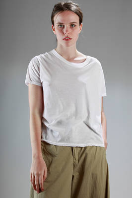 basic t-shirt in very light cotton jersey  - 121