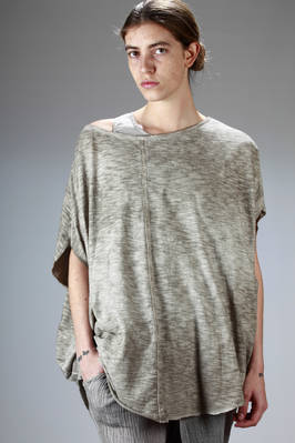 over-fitting t-shirt in iridescent cotton jersey  - 275