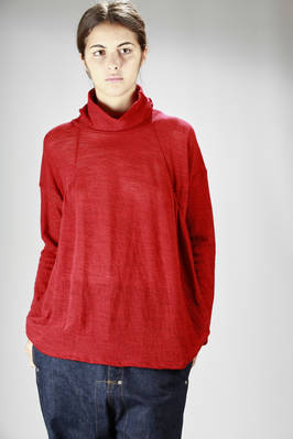 Long and wide flamed wool jersey  - 121