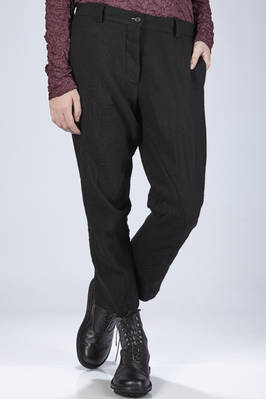 trousers in linen and wool soft cloth  - 161