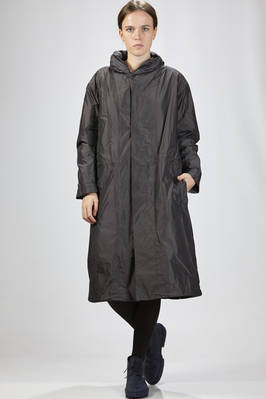 calf-length waterproof in polyester taffetas with removable internal part in cupro fleece  - 327