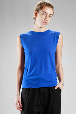 basic singlet in light 'supima' cotton jersey  - 121