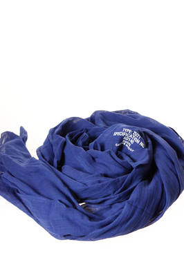 wide rectangle scarf in cotton gauze  - 121