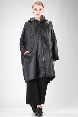 oversized waterproof coat in polyester taffeta  - 121