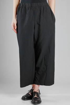 classic 'Comme-Comme' trousers in washed polyester cloth  - 157