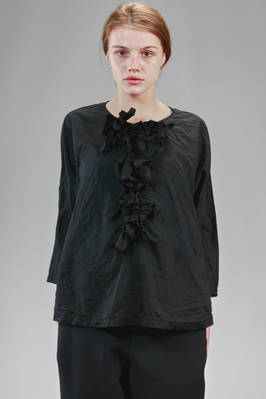 hip length shirt in very soft treated polyester cloth  - 157