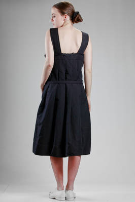 calf length dress, wide, in techno fabric of treated polyester - COMME DES GARÇONS