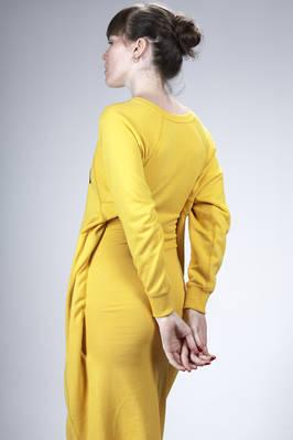 6bf519b85 JUNYA WATANABE - Calf Length Dress, Asymmetric In Cotton Plush With ...