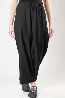 wide trousers in rayon, cotton, nylon and silk cloth  - 123