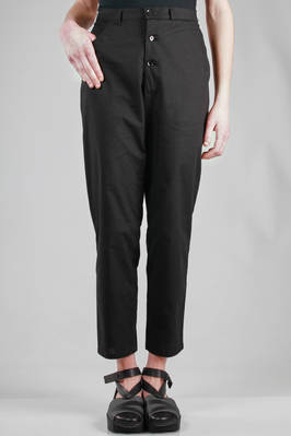 tight trousers in cotton and linen cloth  - 73