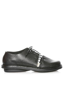 VOID shoe in glossy cowhide leather and classic rounded rubber outsole  - 51