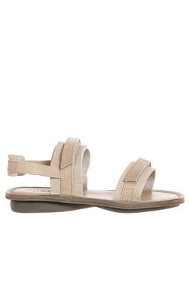 STRIPE sandal in soft moufflon leather and parts in cowhide leather  - 51