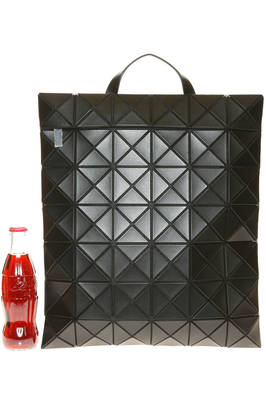 flat backpack of medium dimensions made of medium and matt triangular FLAT PACK plates  - 237