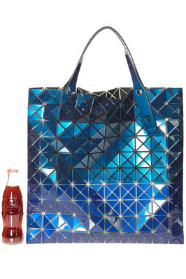 shopper square BAO BAO bag made of iridescent triagular PRISM METALLIC plates  - 237