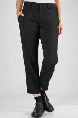 trousers in really soft, cotton hand, wool gabardine  - 97