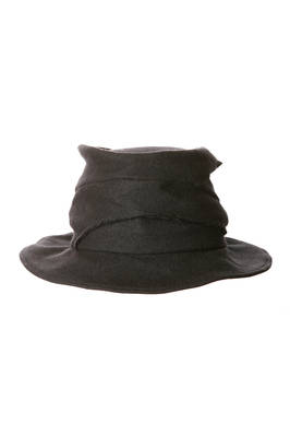 men hat in really soft wool gauze  - 97