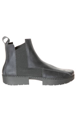 CRUST ankle boot in cowhide leather with rubberized effect treatment  - 51