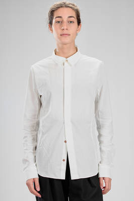classic man shirt in cotton muslin  - 336