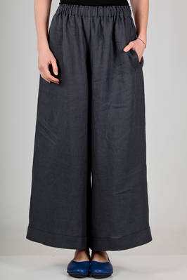 'classic Gregis' trousers in linen canvas  - 195