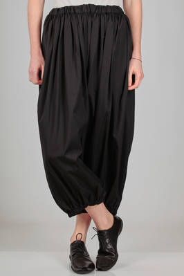 wide balloon trousers in very light cotton canvas  - 157