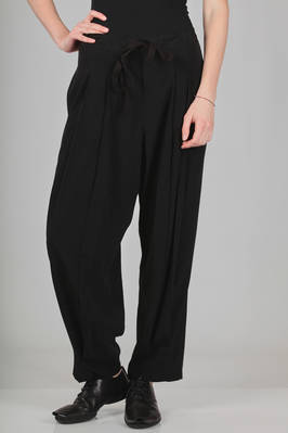 soft trousers in really soft triacetate and polyester canvas  - 97