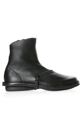 PLUTO boot in soft elk leather and classic rounded rubber sole  - 51
