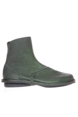PLUTO boot in soft mouflon leather and classic rounded rubber sole  - 51