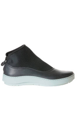 SWIM boot in very soft cowhide leather and elastic with contrasting colour sole  - 51