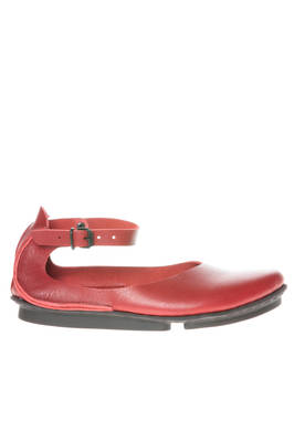 LUCK ballerina shoe in smooth cowhide leather and concave rubber sole  - 51