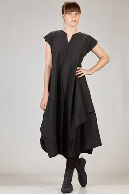132 5. Issey Miyake – calf length dress with origami algorithmic development in recycled polyester canvas  - 47