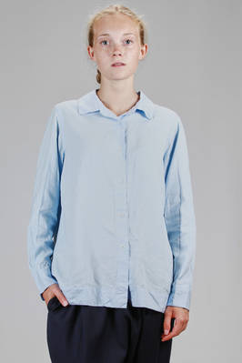 classic man shirt in washed viscose  - 347
