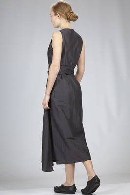 long dress in light cotton and silk batavia canvas - RICK OWENS