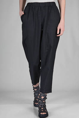 soft trousers in very light washed techno polyester fabric  - 157