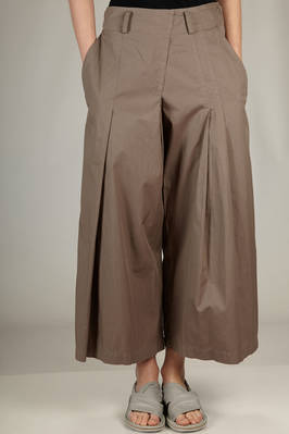 above the ankle trousers in very light washed cotton twill  - 97