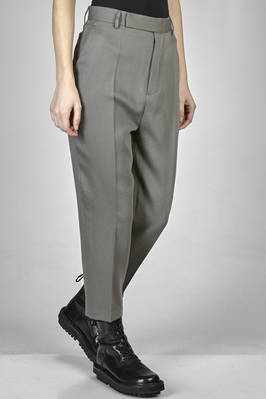 'classic Rick Owens' trousers in virgin wool faille, lined in cupro - RICK OWENS