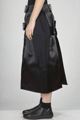 accessory with double belt in cotton and nylon satin - COMME DES GARÇONS