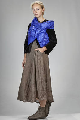rectangular waist-coat/scarf in polyamide taffetas, padded in feather  - 195