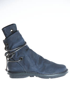high ankle AWNING boot in soft cowhide leather with nubuck effect  - 51