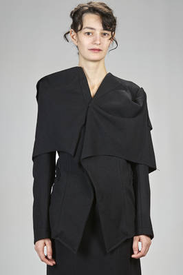 'sculpture' jacket – tribute to Elsa Schiapparelli – wool, polyamide flannel and cotton parts  - 73